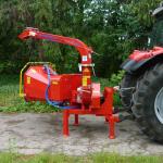 Дисковая мобильная дробилка для дерева Skorpion 120 R