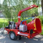 Дисковая мобильная дробилка древесных отходов Skorpion 120 S
