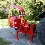Дисковая мобильная дробилка для дерева Skorpion 160 R