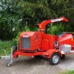 Дисковая мобильная дробилка древесных отходов Skorpion 250 SD
