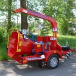 Дисковая мобильная дробилка древесных отходов Skorpion 120 SD