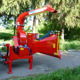 Дисковая мобильная дробилка для дерева Skorpion 250 R