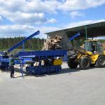 Барабанная стационарная дробилка для дерева Skorpion 650 EB