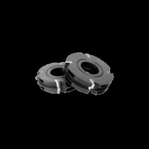 Инструменты для профилирования обшивочной рейки больших диаметров