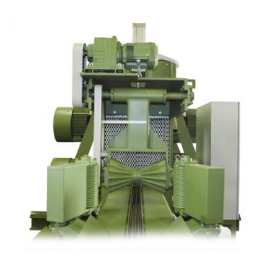Высокопроизводительный двухвальный станок для роспуска строительного леса DBS-8-110 110-720