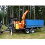 Барабанная мобильная дробилка для дерева Skorpion 350 SDB/X