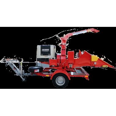 Дисковая мобильная дробилка для дерева Skorpion 250L