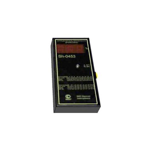 Влагомер (измеритель влажности древесины) бесконтактный батарейный SH-0453