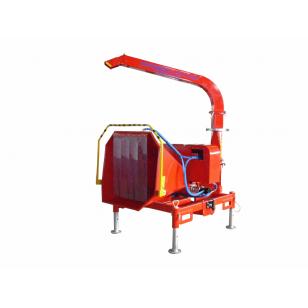 Дисковая мобильная дробилка для дерева с приводом от ВОМ SKORPION 160 R/90