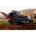 Мобильная барабанная дробилка для дерева Ventura Castor 1320